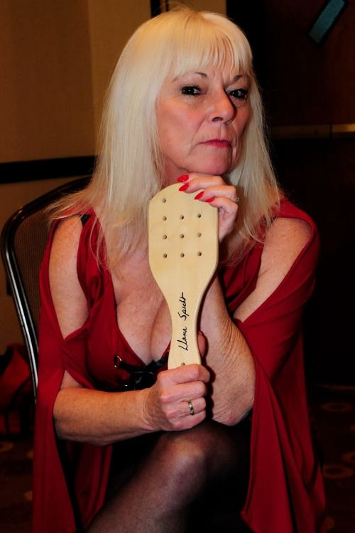 Excellent Dom fem mature strap with you