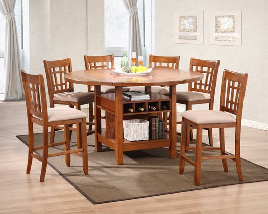 Kane S Furniture The Susan Ii Pub Collection Features A Perimeter