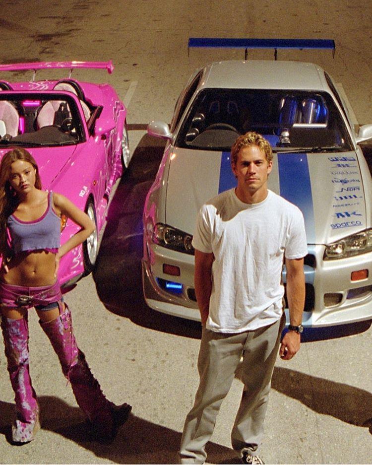 Paul Walker Devon Aoki In 2 Fast 2 Furious 2003 Devon Aoki Paul Walker Suki 2 Fast 2 Furious