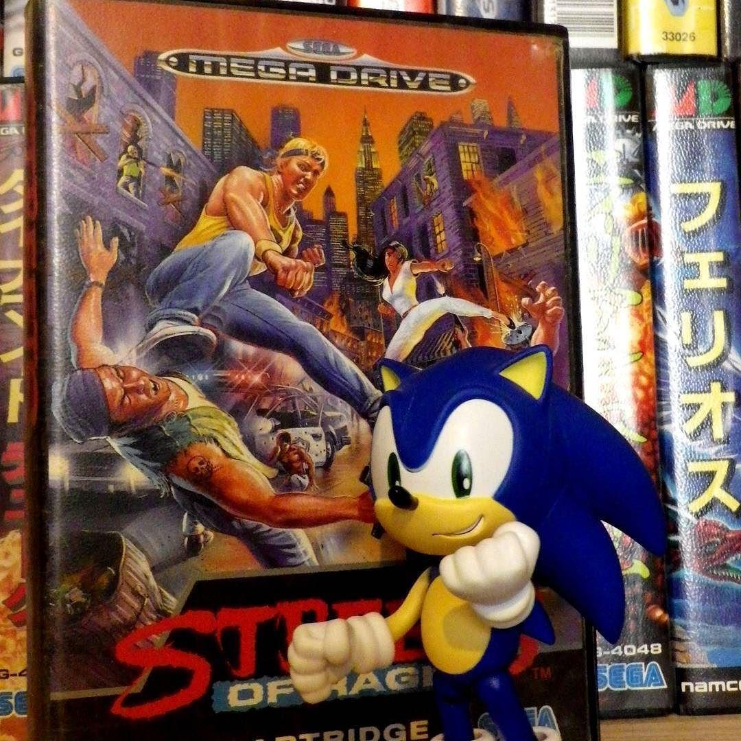 By luchador.r: Game of the day :  Streets of Rage on Sega Megadrive/Genesis.  #gameoftheday #sega #segagenesis #segamegadrive #streetsofrage #beatthemall #retrogaming #retrogames #videogames #bareknuckle #segagenesis #segamegadrive #microhobbit