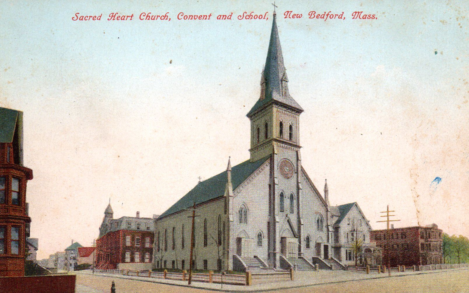Sacred Heart Nursing Home >> Sacred Heart Church Summer Robeson Sts Torn Down French