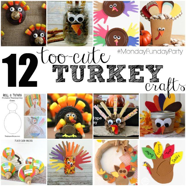 Easy Turkey Crafts & Recipes – That's What {Che} Said...