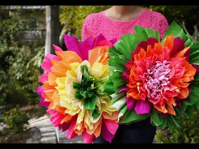 Blumen Aus Krepppapier Basteln Blumen Aus Krepppapier Vigassag