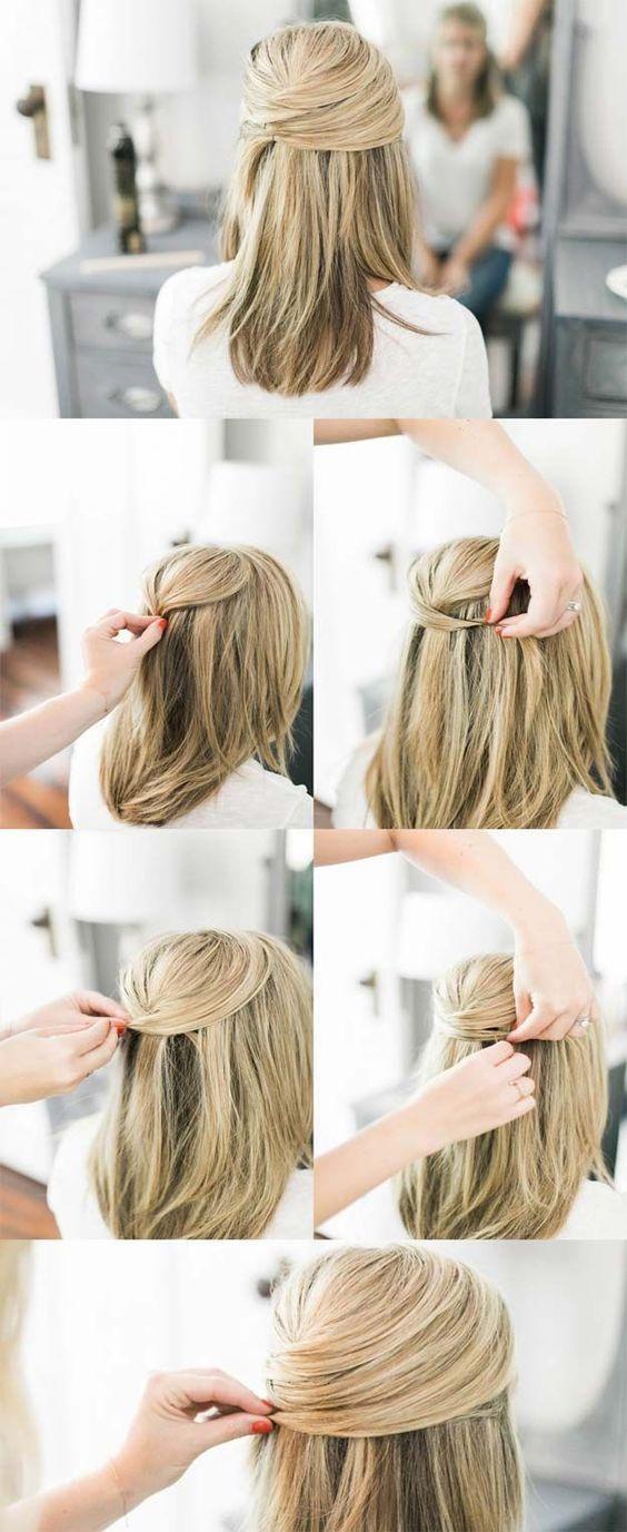 Idee De Coiffure Originale Et Facile A Realiser Coiffure Style De Cheveux Idees De Coiffures
