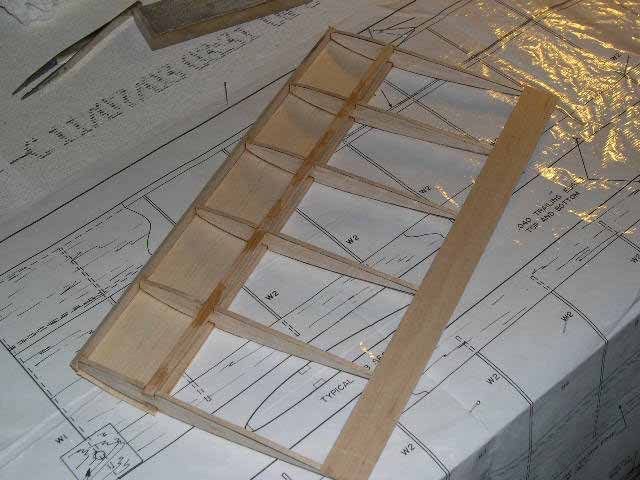 how to build a glider plane with balsa wood