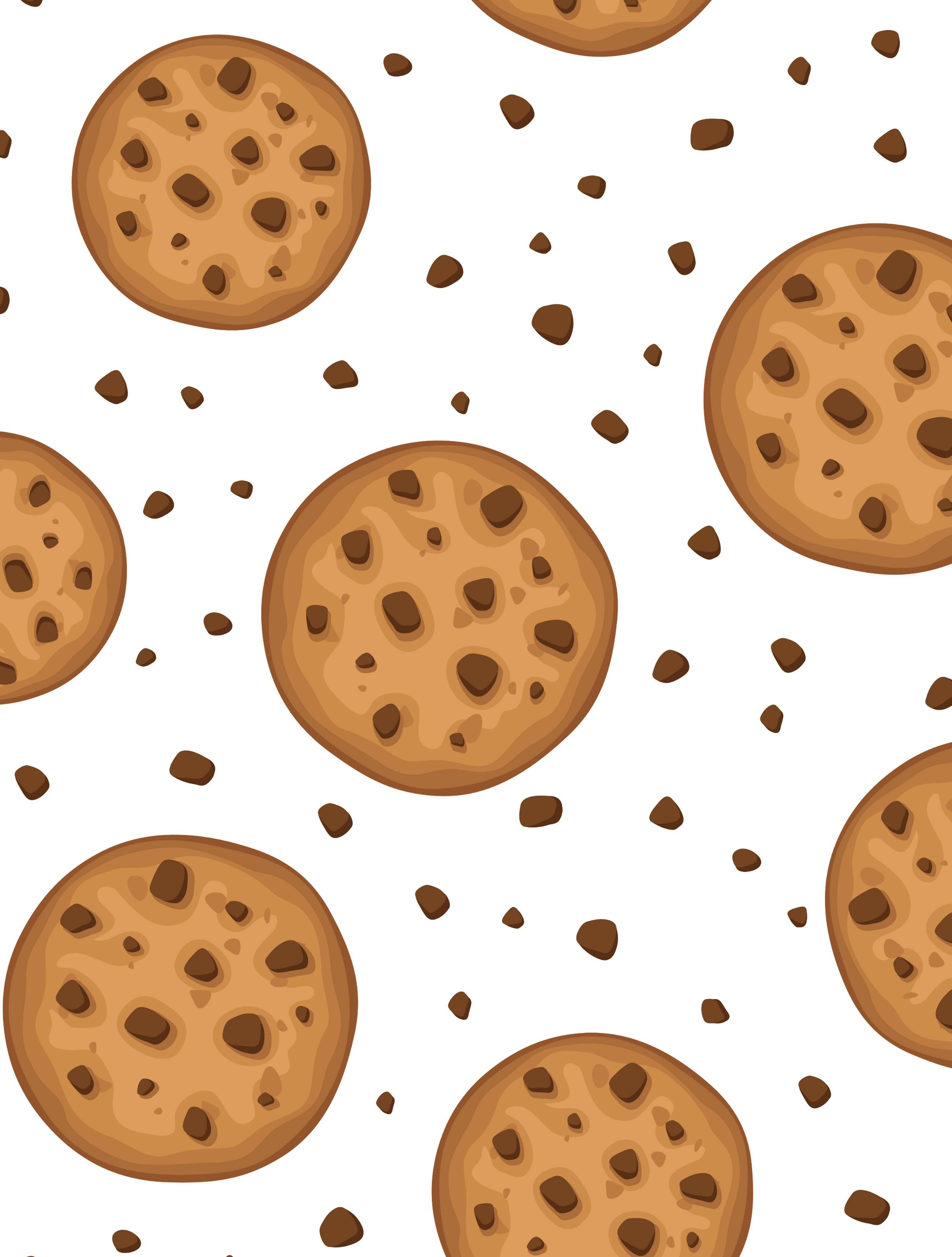 Free Printable Wrapping Paper For Kawaii Cookie Party