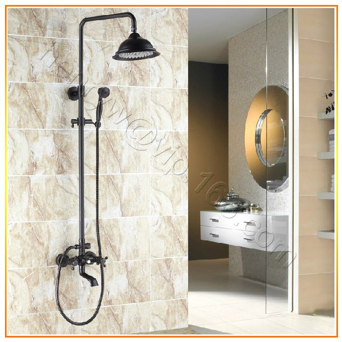 Cheap Faucet Shower Set, Buy Quality Rain Shower Faucet Directly From China Shower  Faucets Suppliers: Dual Ceramic Handles Rain Shower Faucet Shower Set ...
