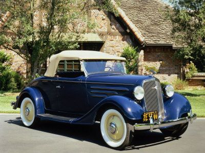 1935 Chevrolet Standard Sport Roadster Dad had one with a rumble