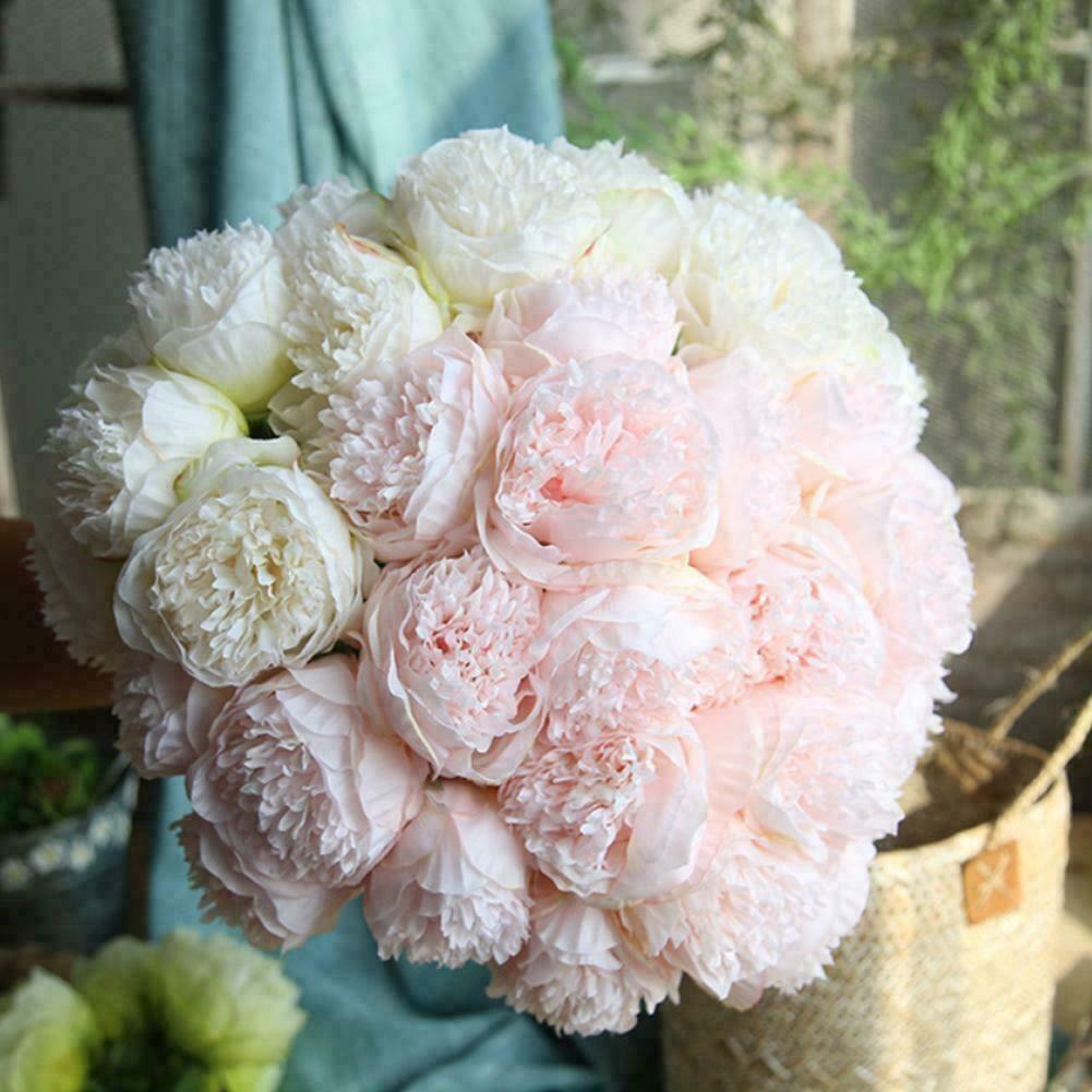 Artificial Flower Bouquet Silk Flower For Valentines Day