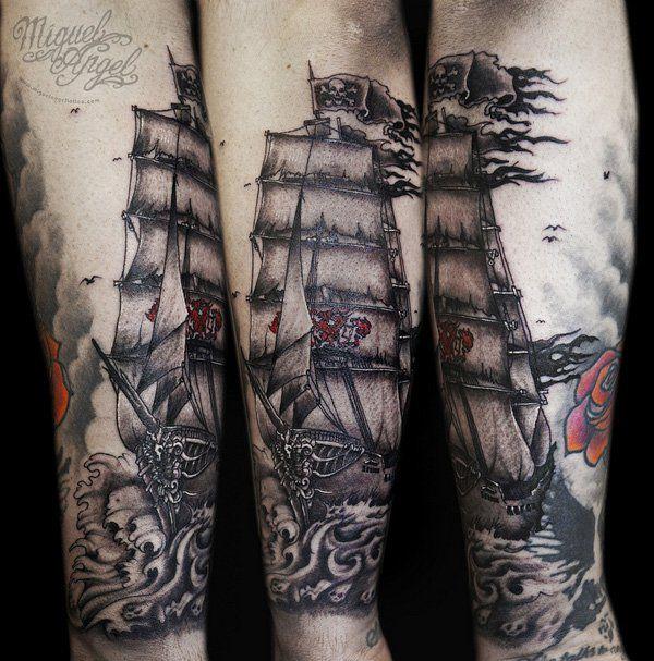 Tattoo Ideas Classic Ships Piercing Ideas Tattoo: 100 Boat Tattoo Designs
