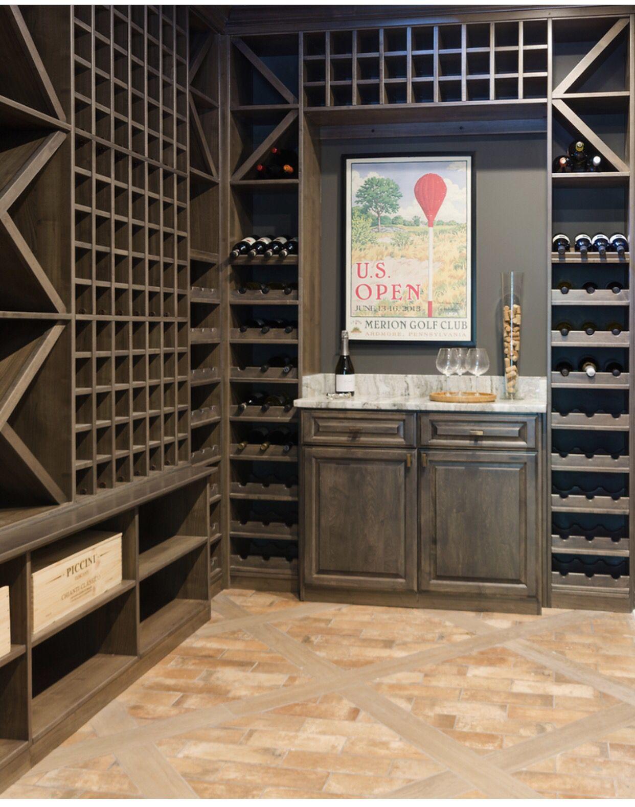 Gentil Wine Room Goals Via The Closet Factory (678) 315 0862 | IG:  Derek_closetfactory_mia Derek.enriquez@closetfactory.com