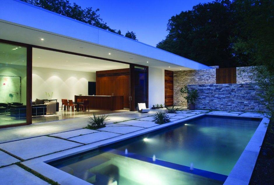 Dise o de casa moderna 940 636 guardar para for Casas modernas famosas
