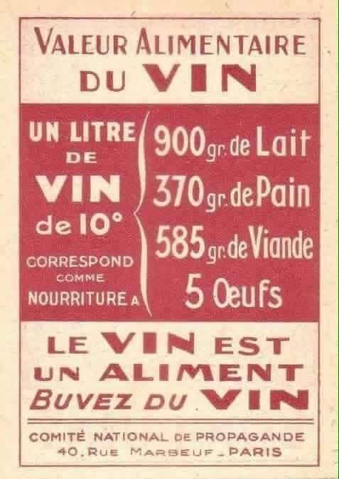 Le Vin Est Un Aliment Buvez Du Vin Citation Vin Boire