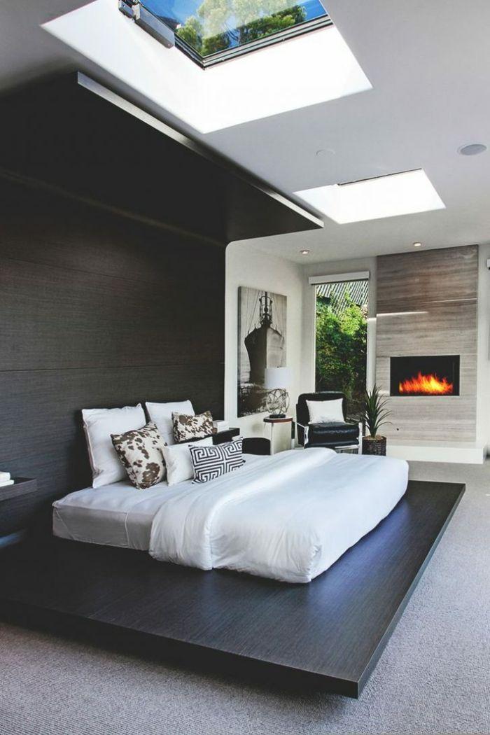Schlafzimmer modern weiß  ▷ 1001 + Ideen für Schlafzimmer modern gestalten | Pinterest ...