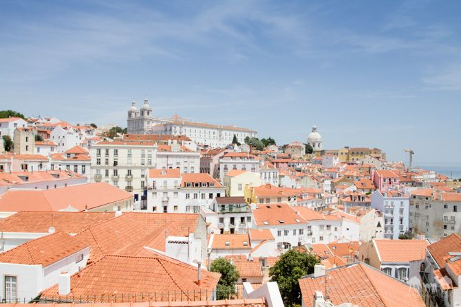Lugares para sacar fotos de Lisboa