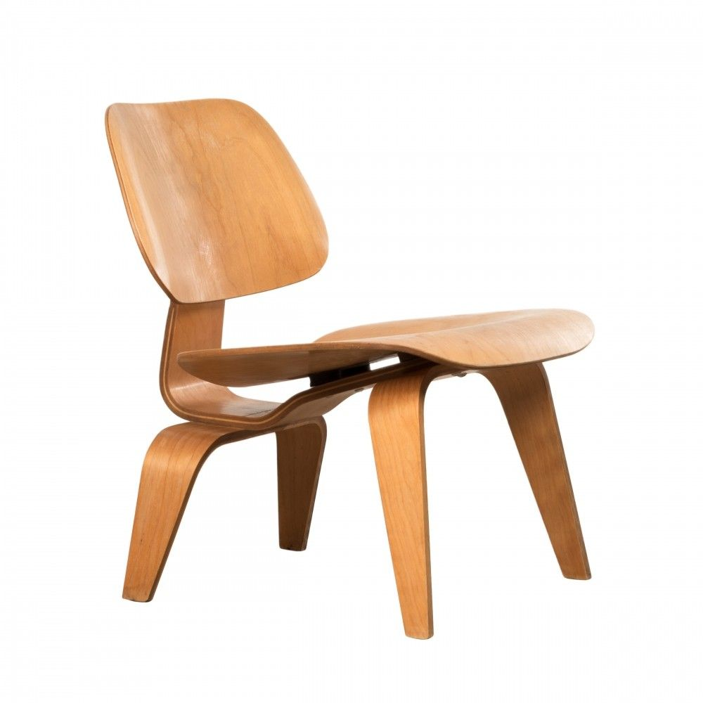 LCW Maple lounge chair by Charles & Ray Eames for Herman