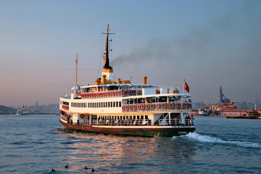 How to Get Around in Istanbul The ferry is water transport that will get you to the specified destination within the city.
