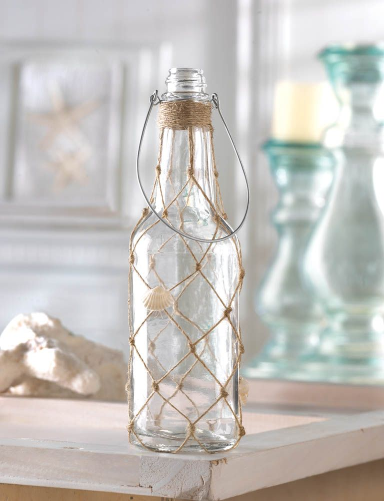 Decorative Clear Glass Bottles Mesmerizing Seafarer Decorative Glass Bottle Wholesale At Koehler Home Decor Design Ideas