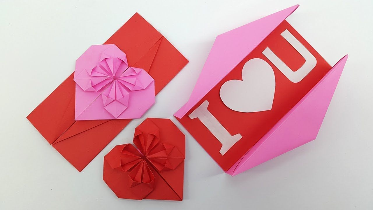 Origami Heart Envelope Box Diy Envelope Paper Heart Card Gift For Boyfriend Girlfriend Youtube Origami Gifts Heart Envelope Origami Gift Box