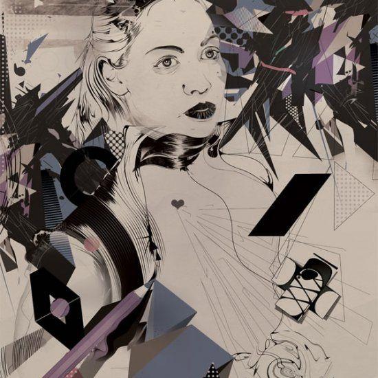 Magomed Dovjenko est un jeune illustrateur freelance d'origine russe basé à Cologne dont les créations talentueuses mêlent illustrations vectorielles & typographies! http://space-art.fr/digital-artist-magomed-dovjenko/