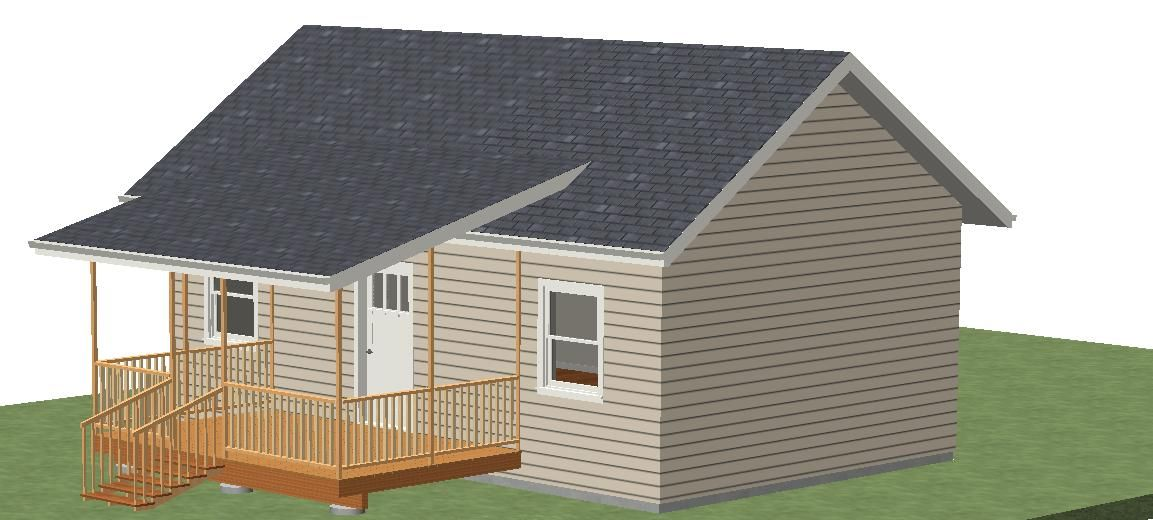 Joining Deck Roof With Existing Roof Roofing Siding