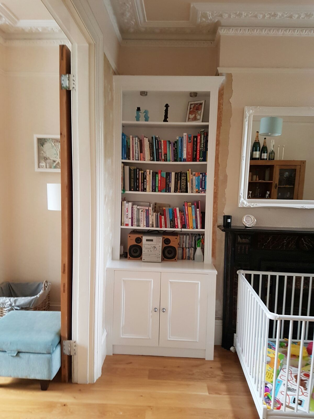 Bespoke Alcove and Bookcases at U Furniture Ltd
