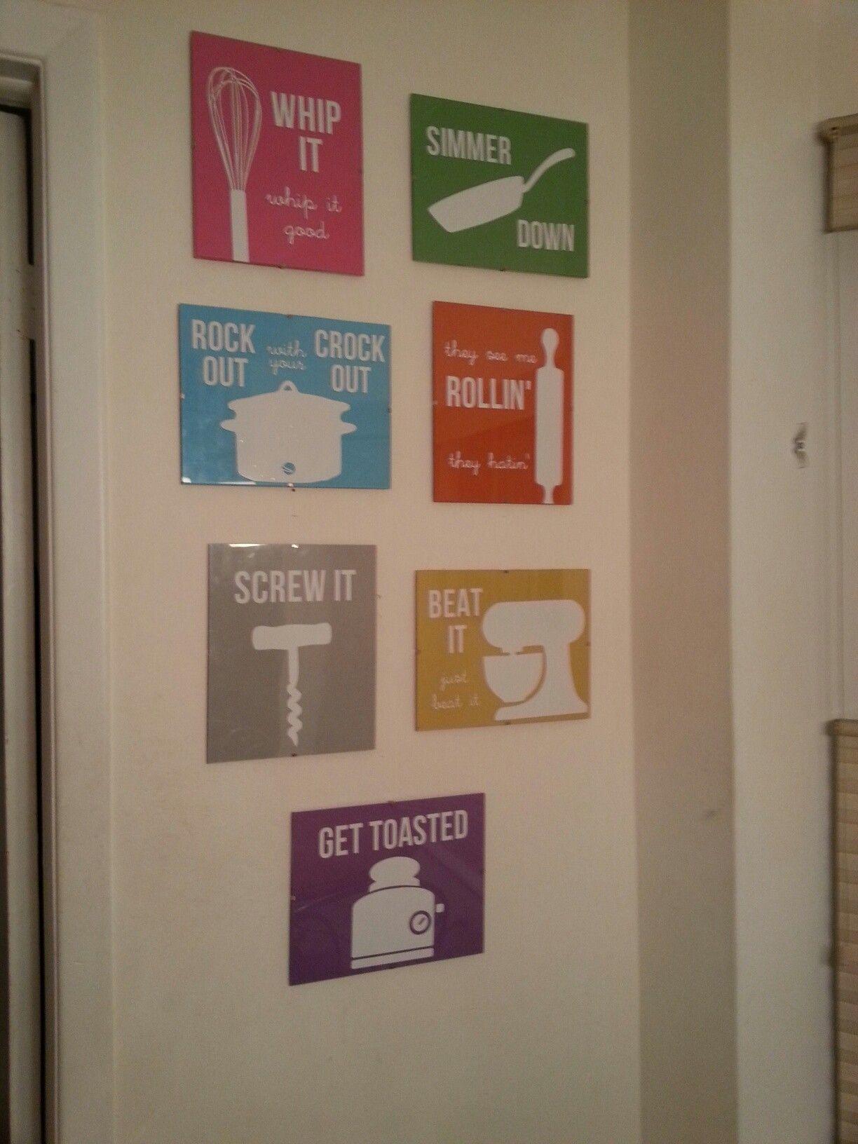 Diy Kitchen Signs