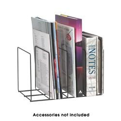 Marbig Black Wire Organisers Magazine/Book Rack at $11.48 in Magazine Files.  Use for paper scraps in folders