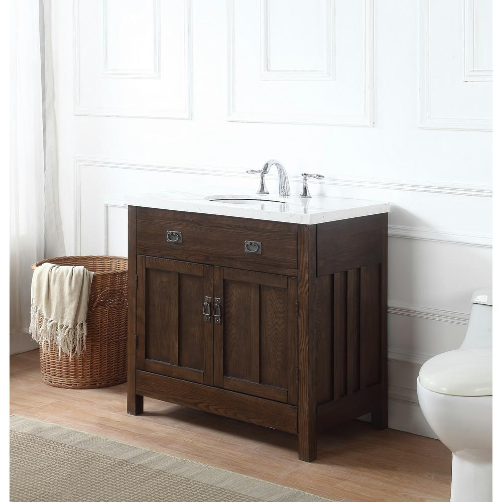 34 Inch Single Sink Narrow Depth Furniture Bathroom Vanity With Choice Of Finish And Sink Bathroom Vanity Single Sink Bathroom Vanities Custom Bathroom Vanity