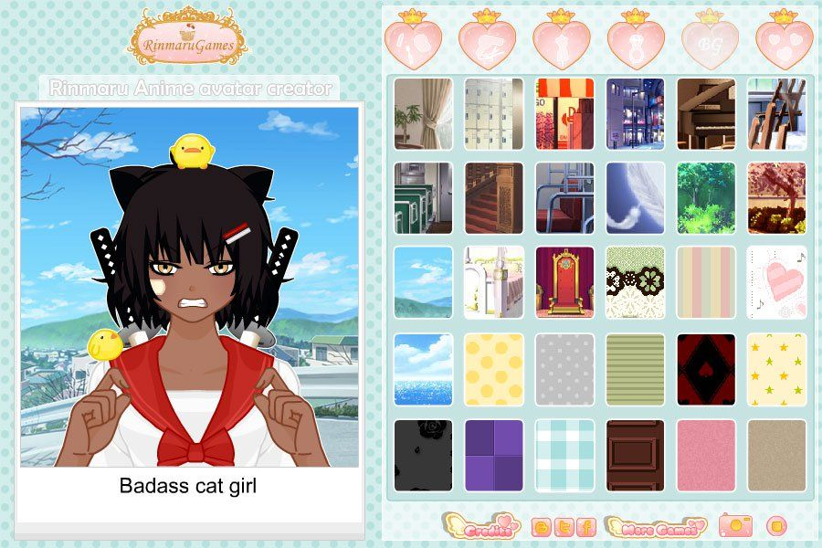 Rinmaru Anime avatar creator Screen shot 2