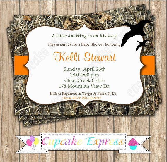 Camo Baby Boy Duck Hunting Baby Shower By Cupcakeexpress On Etsy