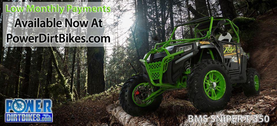 bms sniper t350 utv pit bike, go kart, atv, tractors, monster trucks