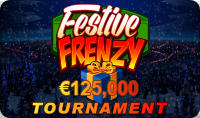 Gowild Casino Tournaments :FESTIVE FRENZY NETWORK TOURNAMENT: Win your share of $ 25k weekly!