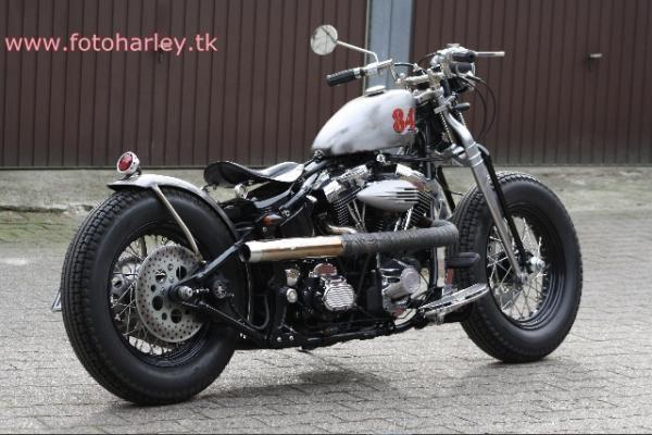 Hot Rod Harley >> Harley Springer Hot Rod Harley Davidson Old School