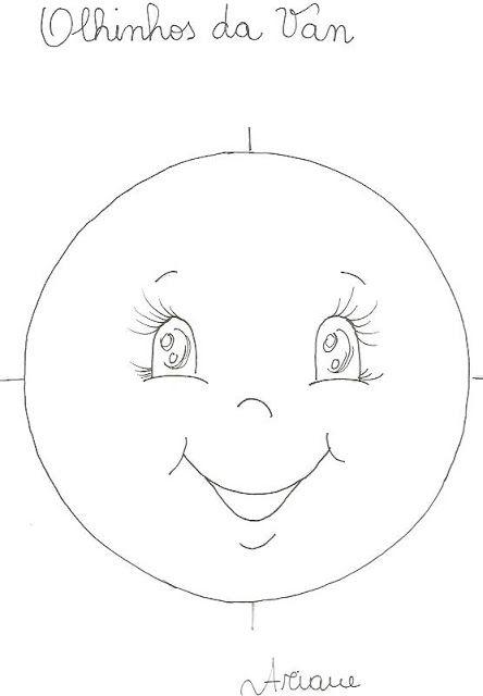Como Pintar Olhos Em Bonecas De Pano Com Imagens Padroes De