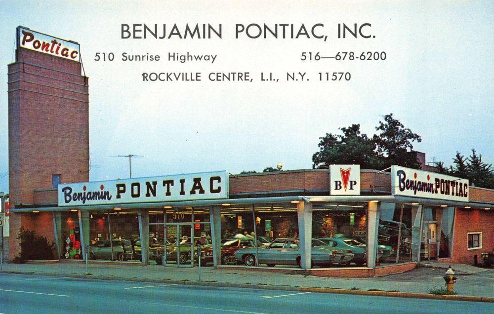 Benjamin Pontiac Automotive Dealership in Rockville Centre