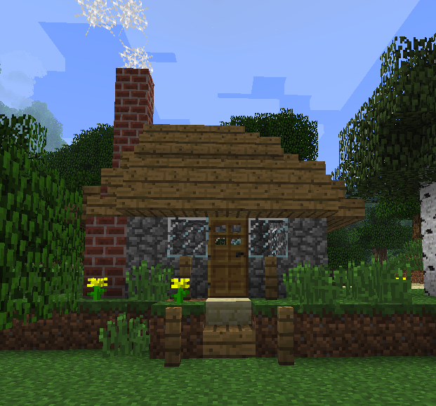 Minecraft Build Challenge Minecraft Media Minecraft Cottage Minecraft Designs Minecraft Cottage House
