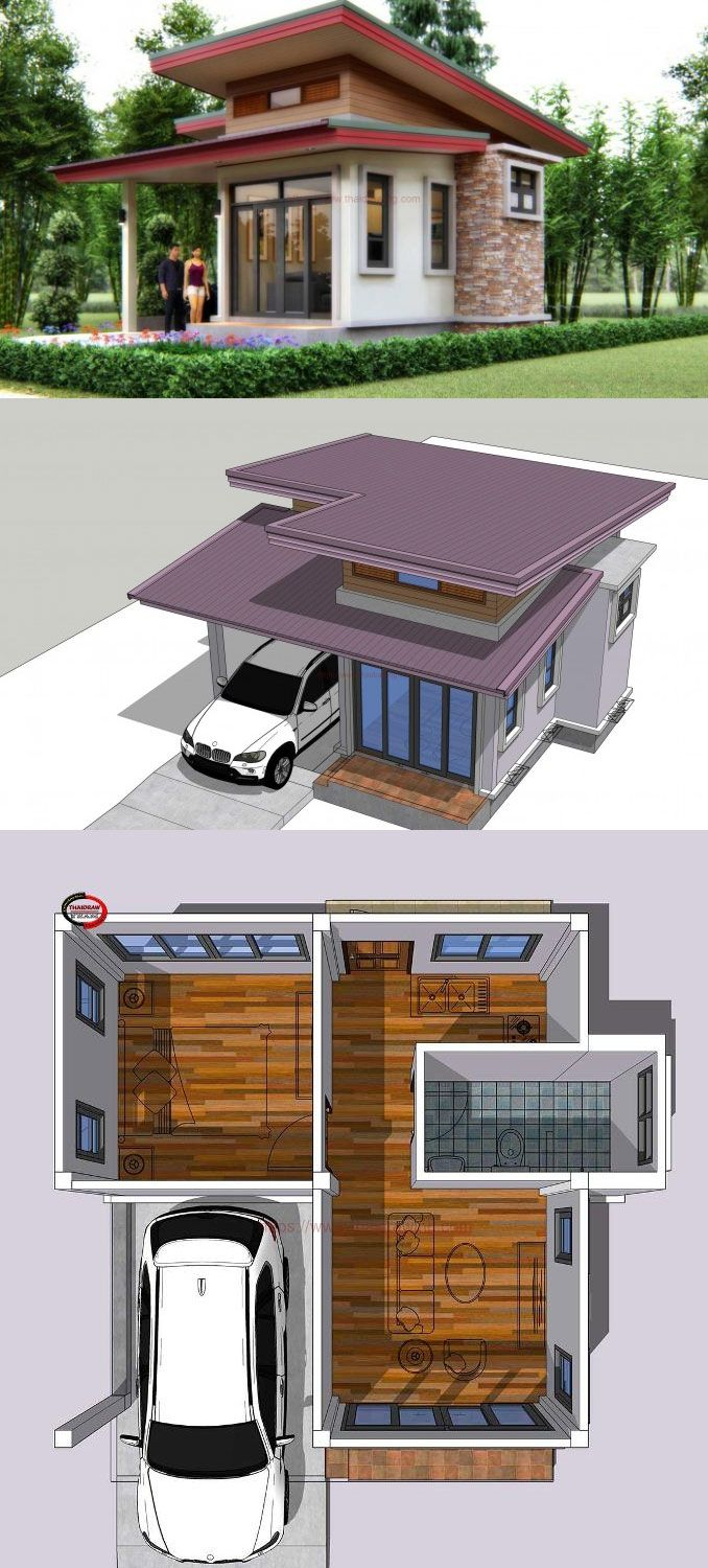 One Bedroom Small House Design Small House Design Small House One Bedroom House