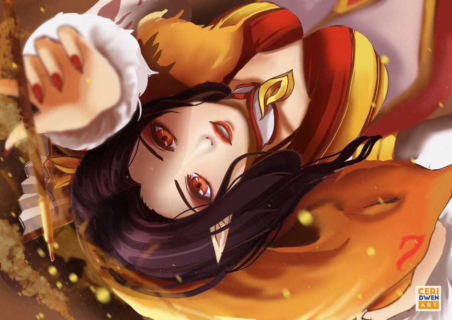 MOBILE LEGENDS: Foxy Lady by CeridwenArt  Miya mobile legends