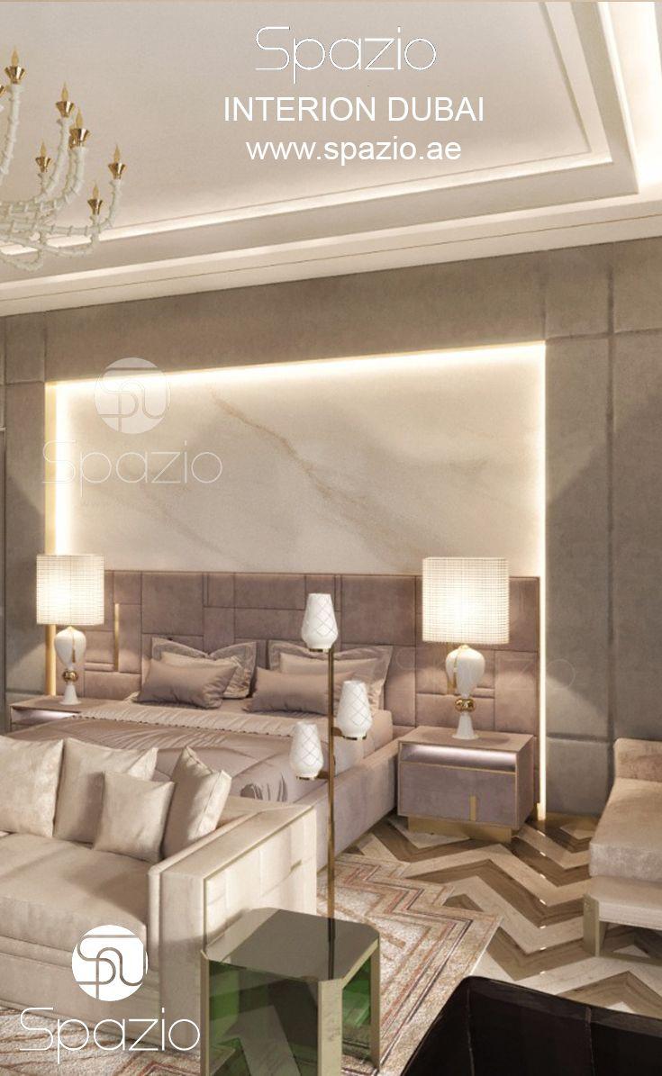 Bedroom interior design in Dubai   Interior decorating ideas ...