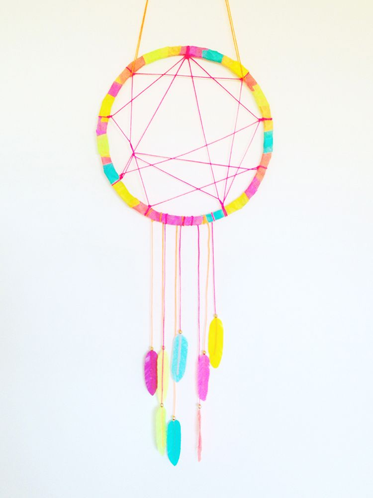 Dream Catchers Melbourne Dream Catcher made with Masté Washi Tape