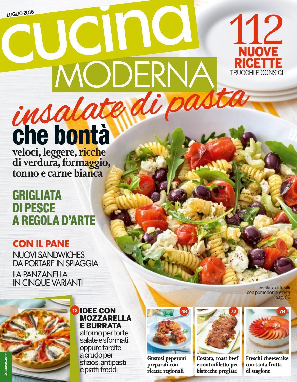 Cucina moderna n 7 luglio 2016 ma cucina food and recipes - Cucina moderna magazine ...