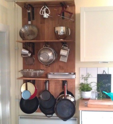 Pots And Pans Organizer Hook For Hanging By Polygonpusher