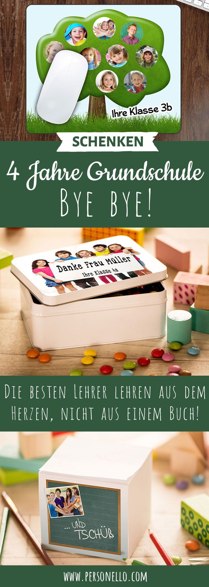 Geschenke für Lehrer - Danke sagen - Abschiedsgeschenke
