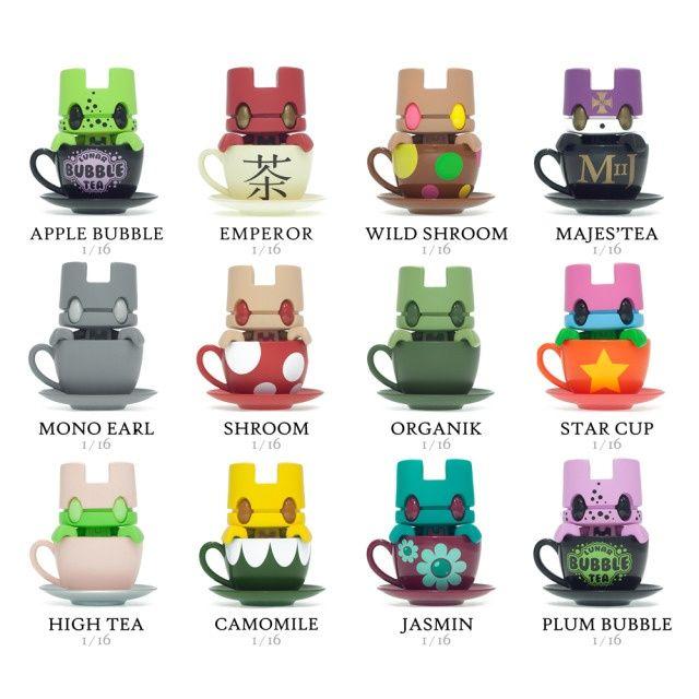 Lunartik In A Cup Of Tea Mini Series Two: Case - Mini-Figures - Category