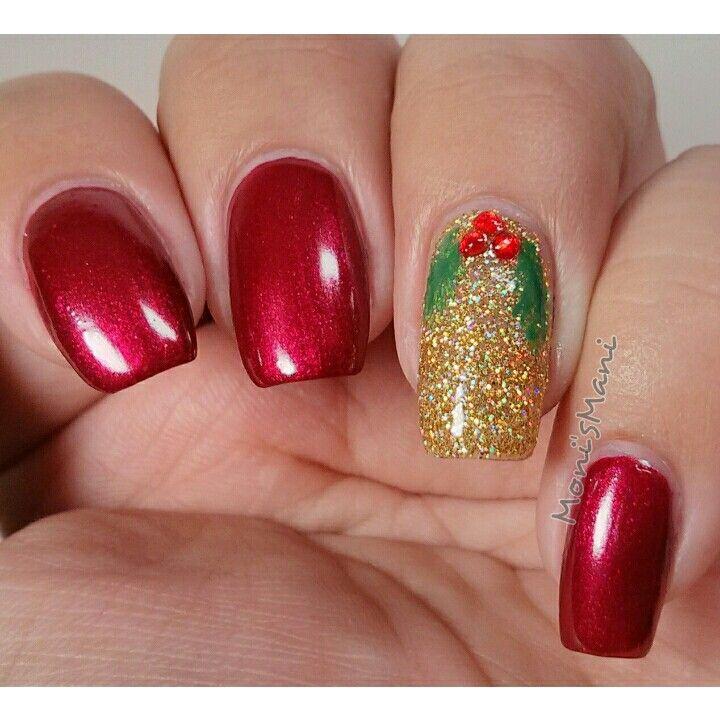 Milani ruby jewel and accent nail my kinda color million dollar mani ...