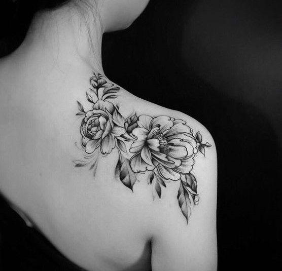 38 Trendy Shoulder Tattoos For Women Monkey Tattoos Back Of Shoulder Tattoo Shoulder Tattoos For Women