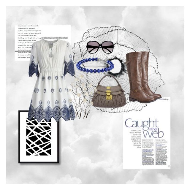 Head In the Clouds by daydj on Polyvore featuring polyvore, fashion, style, Chicwish, Avenue, Miu Miu, David Yurman, DB Designs, Chloé, Home Decorators Collection and Universal Lighting and Decor