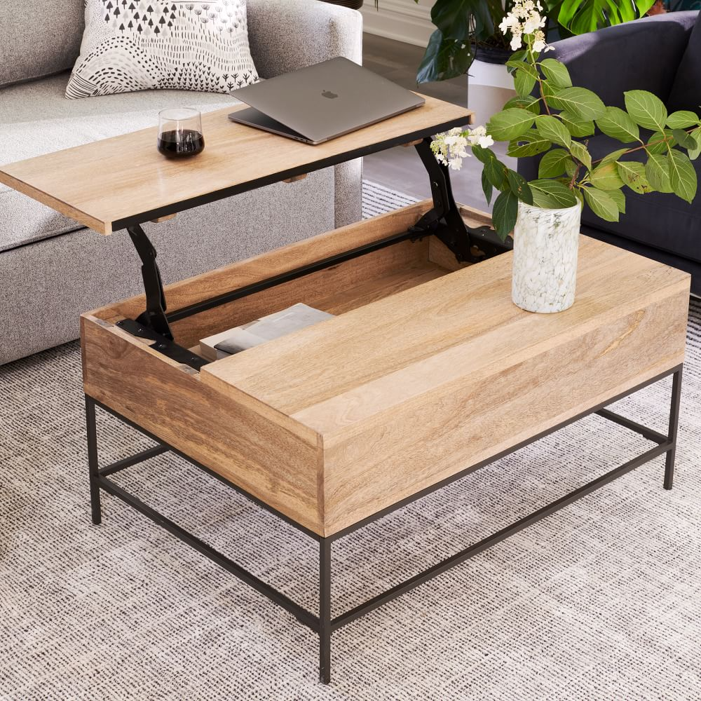 Industrial Storage Pop Up Coffee Table In 2021 Coffee Table Coffee Table Wood Industrial Storage [ 1000 x 1000 Pixel ]