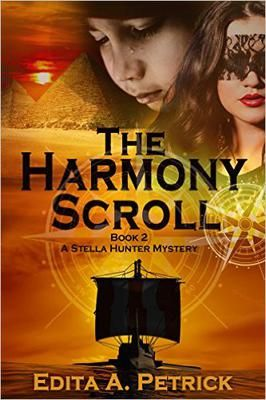 ASIN: B013RHJT5O.  337 pages: Kindle Price Drop To Just $1.99 For A Limited Time Only!  Mystery Thriller: The Harmony Scroll (A Stella Hunter Mystery Book 2)  Kindle Edition  Stella